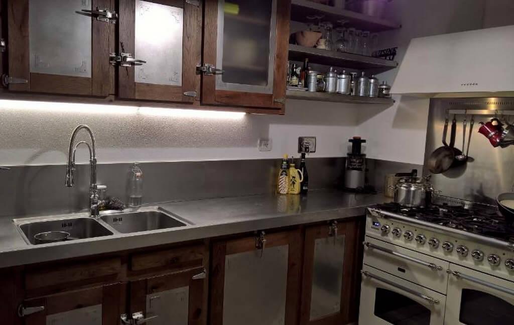 Alchimia Home - Soluzione arredo su misura - Cucina Roma - Vista generale