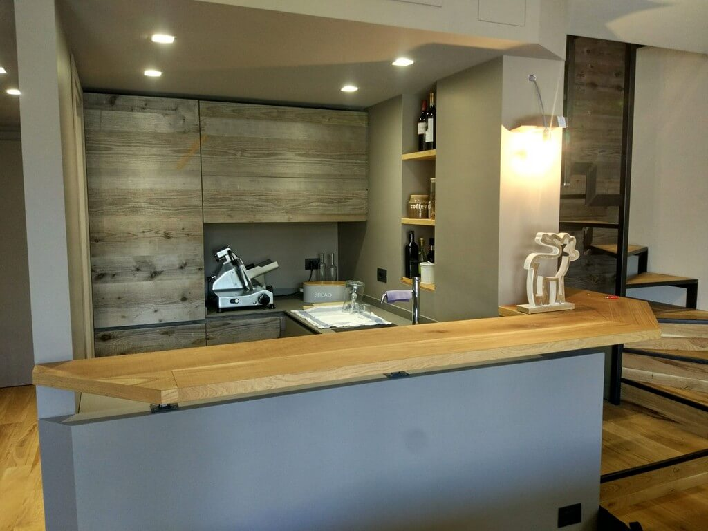 Restyling appartamento - Alchimia Home - Vista cucina
