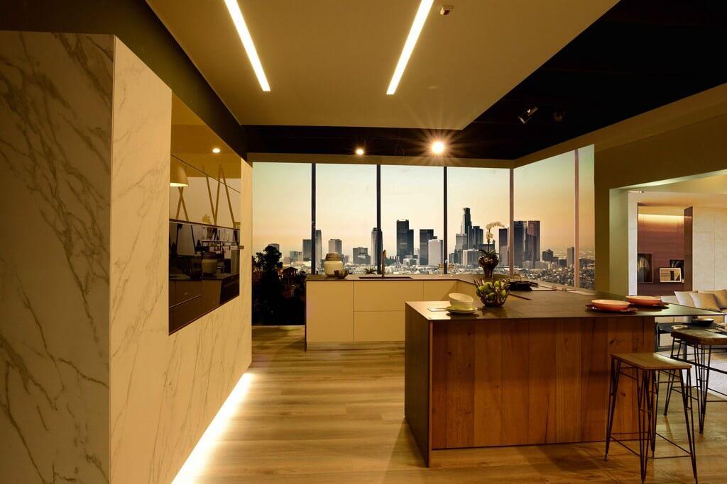 Alchimia Home - Cucina personalizzata - Showroom - Vista laterale